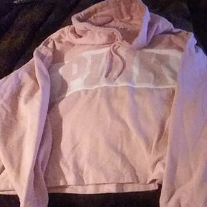 Victoria secret pink cowl sweater never used